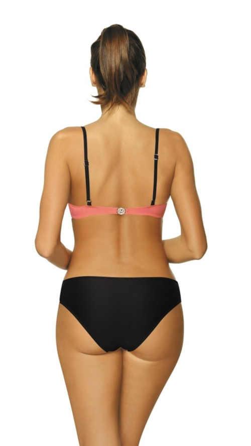 Dwuczęściowy kostium kąpielowy o wyrafinowanym kroju