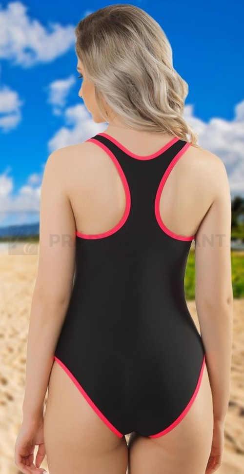 Jednoczęściowy damski sportowy strój kąpielowy do pływania