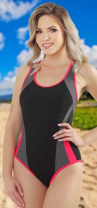 Plus Size Sportowy strój kąpielowy jednoczęściowy Zara