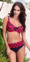 Damski dwuczęściowy kostium kąpielowy z paskiem w talii Astratex Emily